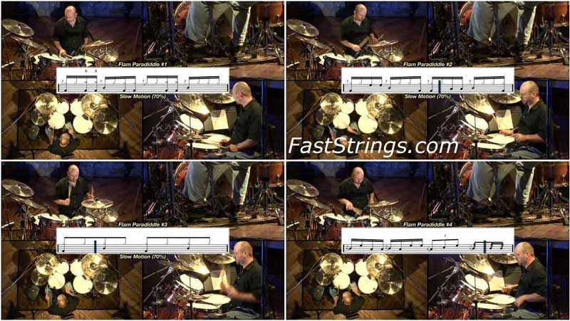 Lionel Duperron - Drum Rudiment System (Advanced): DVD 5-6