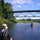 Cruising down a quiet spot on the Chehalis