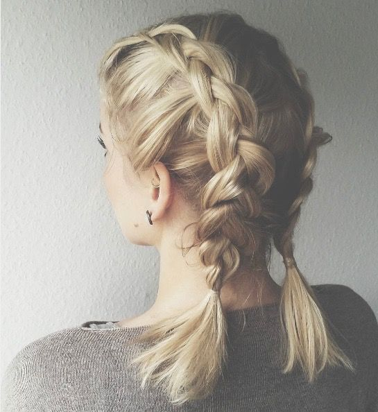 Braid for Short Hair :Style French Style Newest Ideas 2017 9