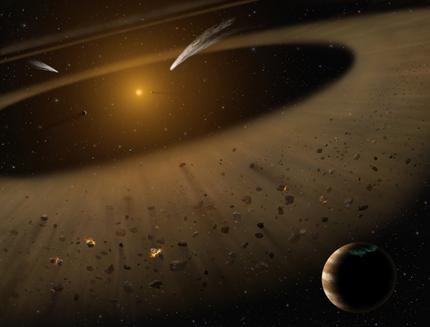 ilustração do sistema Epsilon Eridani