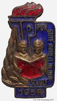 1931 Arbeit Schule onderscheidingstekens