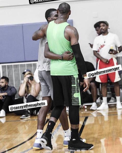 King James Debuts Nike LeBron 15 in a Pickup Game