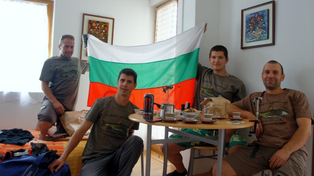 Триумф за националния отбор по риболов с муха и шнур още при първото участие на международно състезание