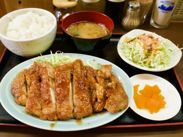 鶏テリヤキ定食