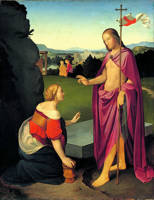 Johann Friedrich Overbeck - Easter Morning - Google Art Project