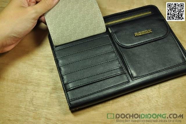 Bao da Ipad Mini Remax dạng ví cao cấp