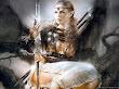 Warrior And Sword