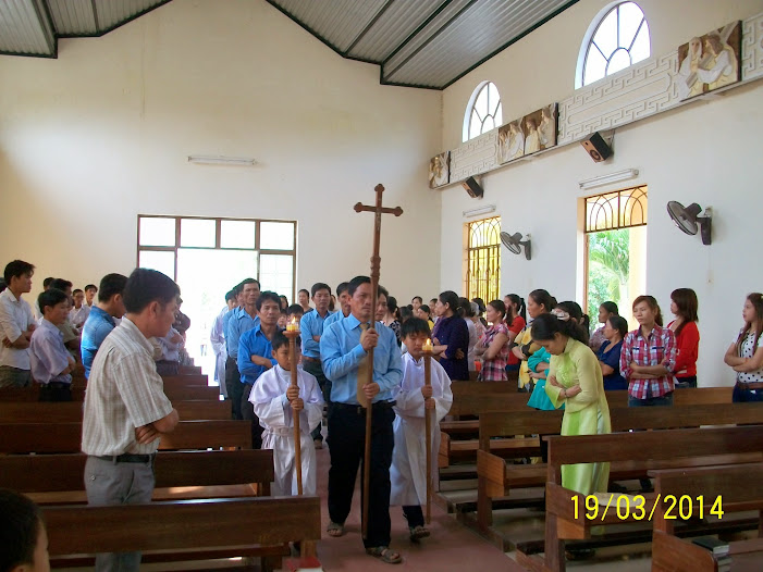 Lễ bổn mạng giáo xứ Đa Lộc - 2014