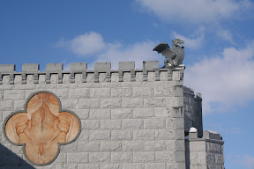 Architecture, Castle, Exterior, Showroom, Veneer, Wall Stone