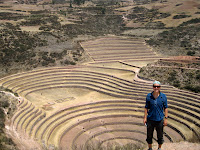 Moray Inca Ruins along our bike route