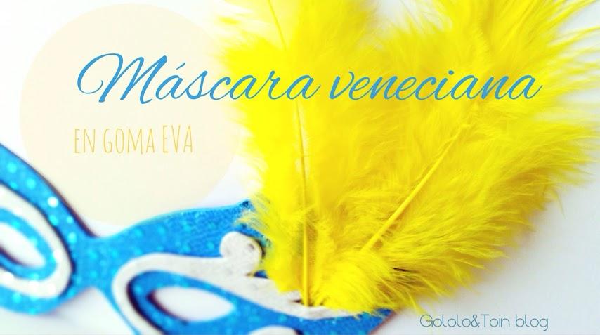 cómo hacer una máscara veneciana para carnaval
