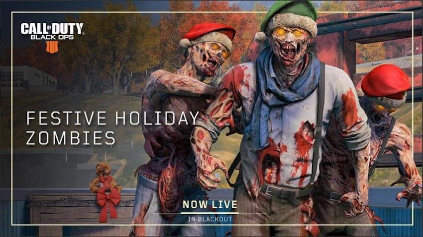 Call of Duty: Black Ops 4: gli zombie tornano nella modalità Blackout