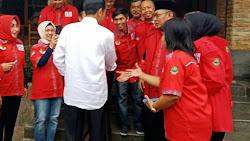 Presiden Joko Widoso Marah, Ketia Relawan KORNAS Jokowi Jawa Barat Turun Kelapangan