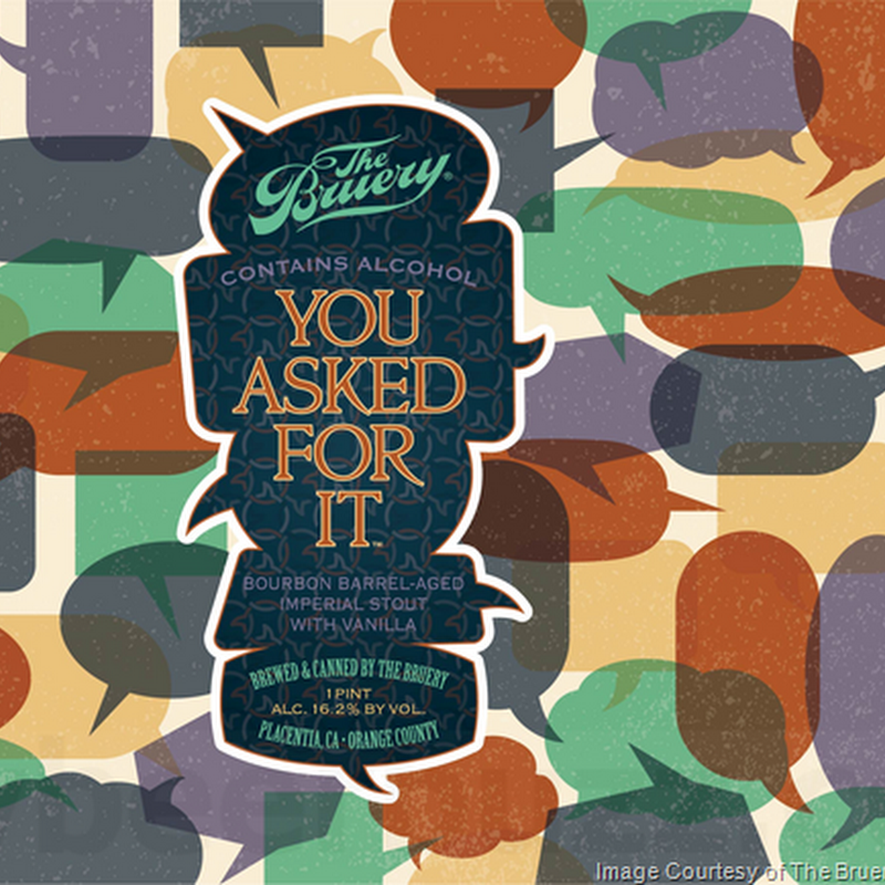 The Bruery Adding You Asked For It Cans & Bottles