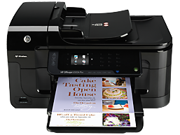 Down HP Officejet 6500A lazer printer installer