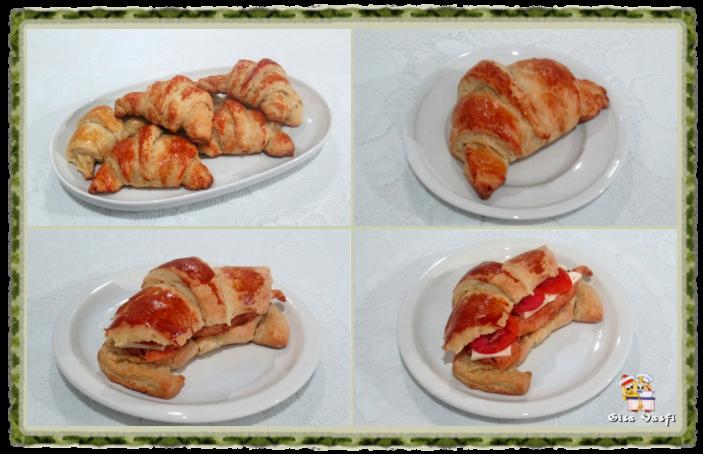Croissant doce e salgado 1