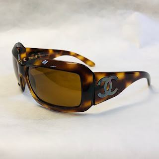 Chanel Tortoise Shell Sunglasses