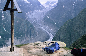 Photo: Fieschergletscher in den Berner Alpen