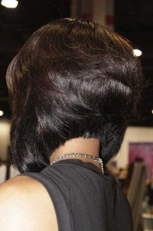 black bob hairstyle back view 2015 2016 - Styles 7