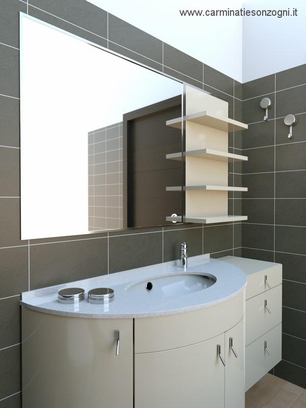 progetto di bagno casa privata a Bergamo - 2..jpg