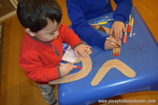 Design your own boomerang