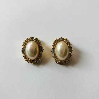 Christian Dior Costume Earrings
