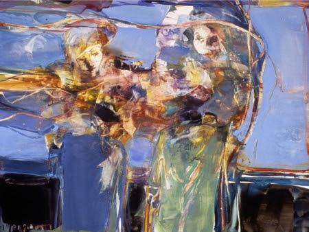 Hourglass. Artist Carla O'Connor, AWS-df/NWS