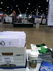 The view from my packet pick up station on Day 1.