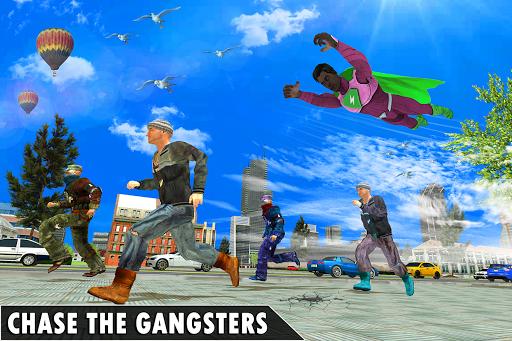 Black Rope Hero Vegas Mafia Superhero Crime Battle screenshot 7