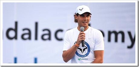 Rafa Nadal ha transformado su lugar de entrenamiento en una academia de alto rendimiento