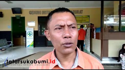 Humas RSUD Sekarwangi Cibadak, Ramdansyah/ Foto : Isep Panji (8/1/2019)