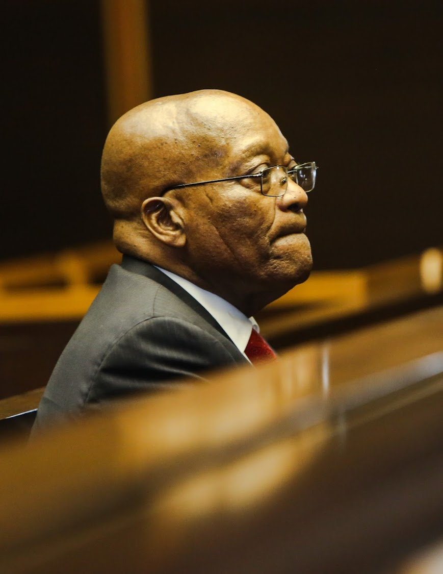 Former President Jacob Zuma in the PMB High Court for his 3rd appearance on charges of fraud and corruption