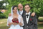Egy baráti  esküvő Kaposváron. Brigi és Nimród.