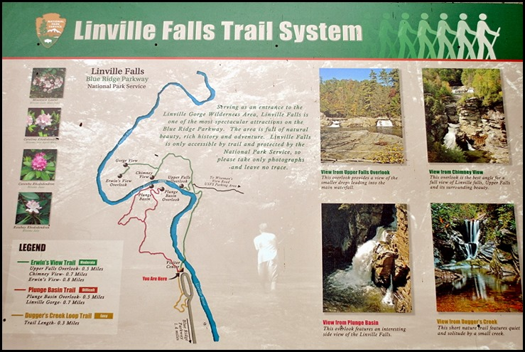 09a2 - Linville Falls Hike May 29 - Map