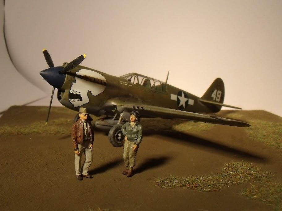 [Hasegawa] Curtiss P-40N Warhawk GEDC1349