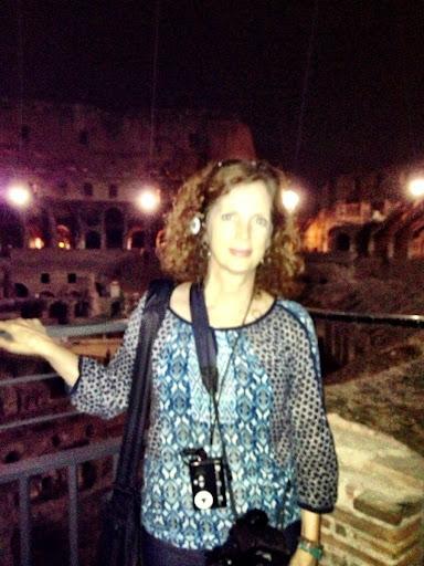 Penny Sadler in Rome