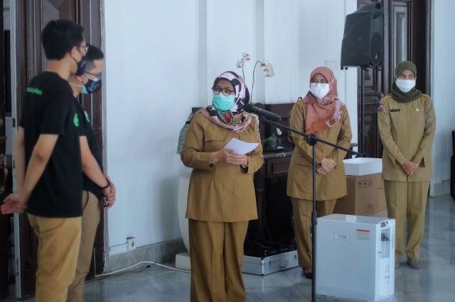 GoTo Sumbang 25 Konsentrator Oksigen, di Sebar ke Puskesmas di Kota Bogor