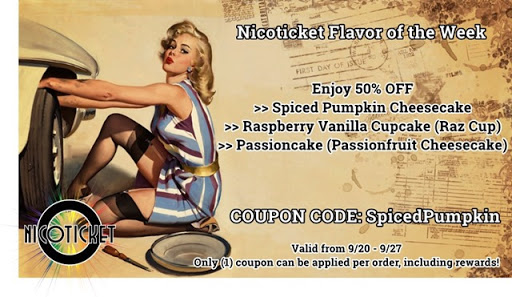 8e817147 b44c 4ab9 ac6d 51eb3c47688e thumb%25255B5%25255D - 【リキッド】Nicoticketの「Spiced Pumpkin Cheesecake」「Raspberry Vanilla Cupcake」「Passioncake」がなんと50%オフ!【FOTW09/21-09/27】