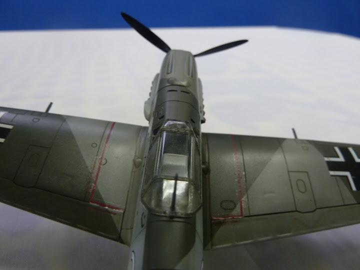 Bf-109 E-3 Tamiya 1/48 - Reforma pintura P1020667