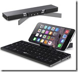 Folding Keyboard with Stand for Mobile Phones