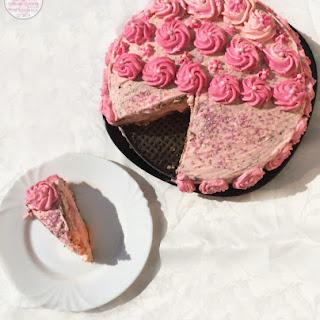 Blood Orange Elderflower Cake