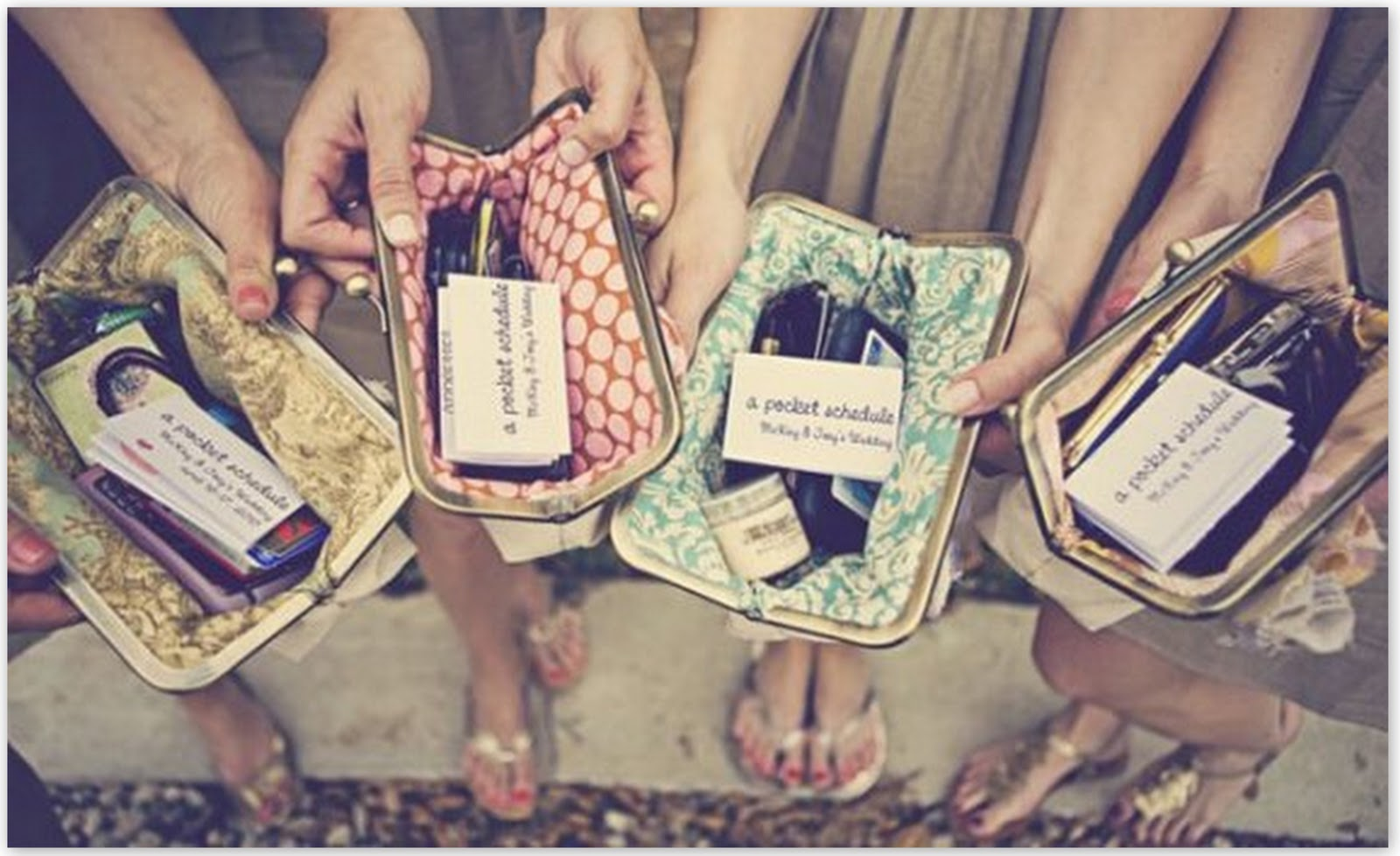 Bridesmaids Wedding Gifts: Cute Clutches For Your Bridesmaids