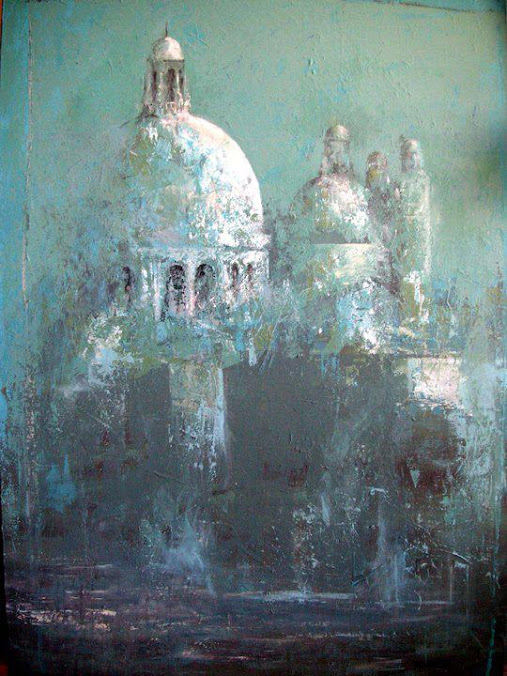 Ana Hernández Morote,Pintora,Pinturas,Pintura de Ana Hernández Morote,Pintura en acrílico Salute II