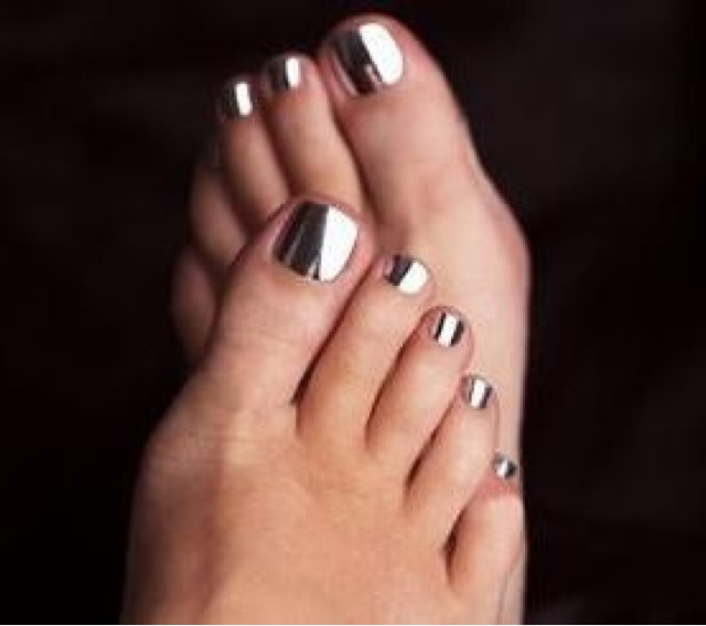 Nyc Metallic Nail Polish: BellaBri: Chrome Nails