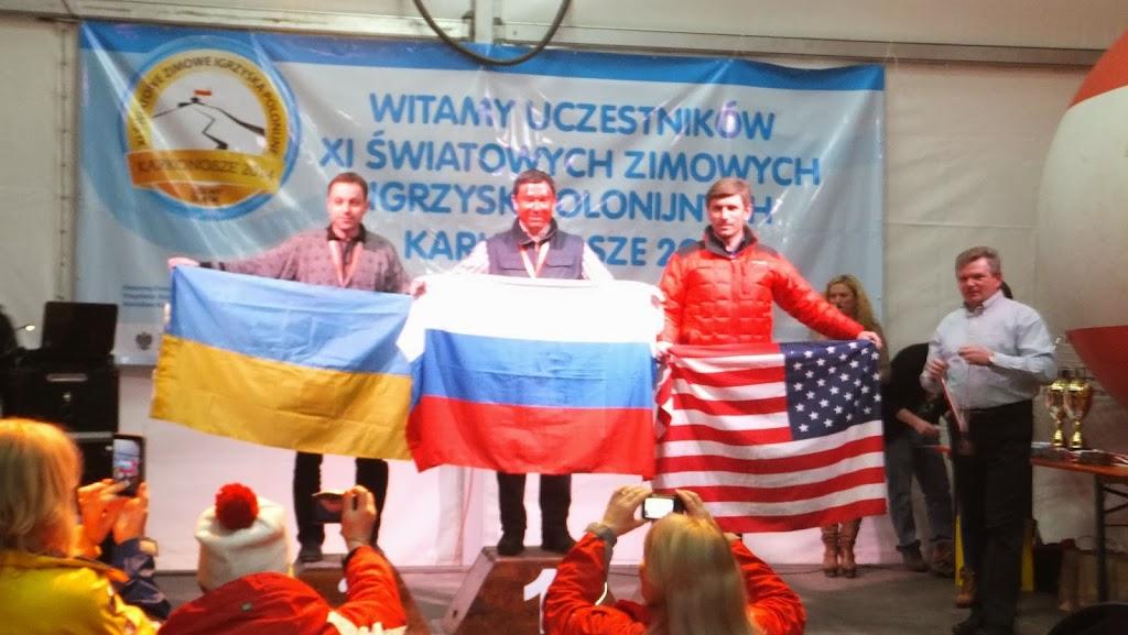 Narciarstwo Retro srebrny medal Andrzeja Krygowskiego z USA