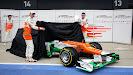 Reveal Force India VJM05 Hulkenberg & di Resta
