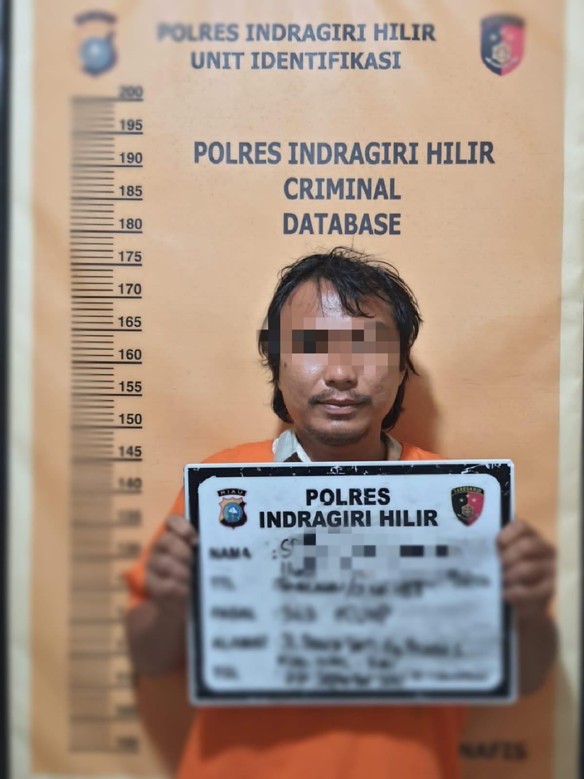 Polisi Tangkap Pencuri Kabel di RSUD Puri Husada Tembilahan