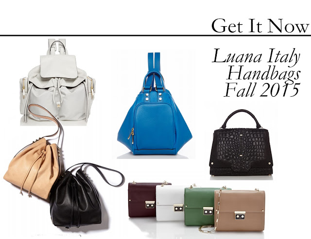 Get It Now: Luana Italy Handbags