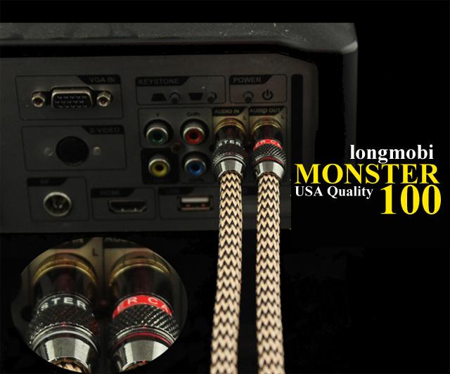 day tin hieu audio monter standar 100