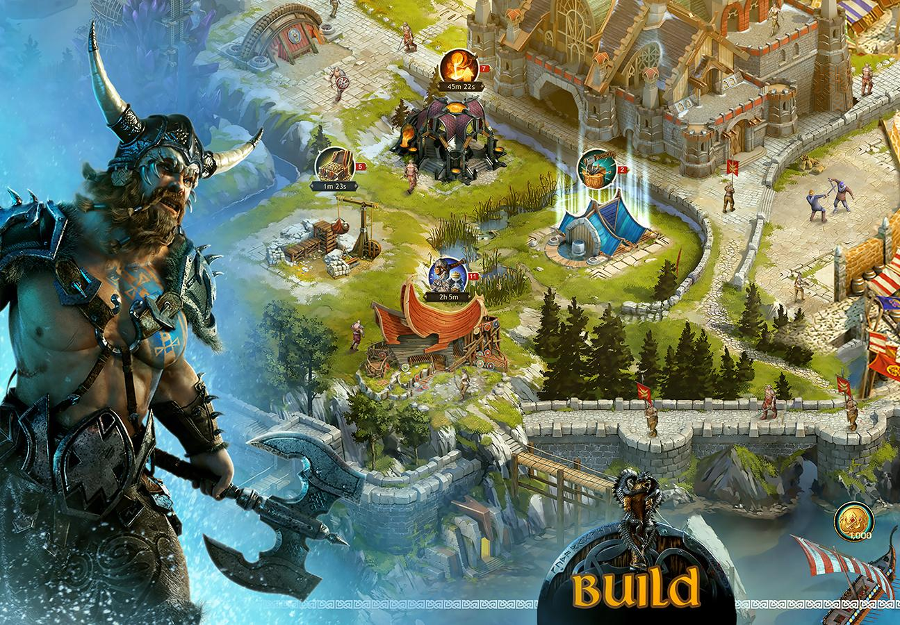 Vikings: War of Clans- screenshot